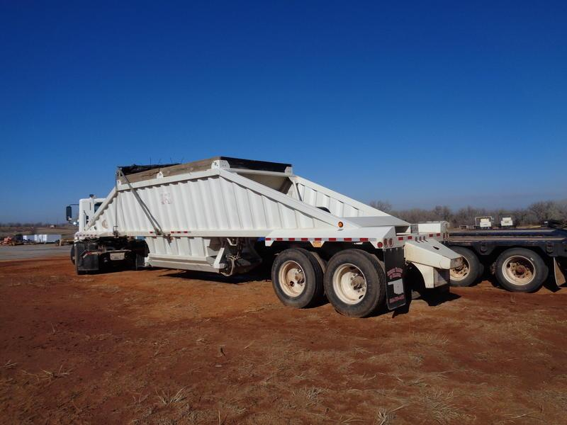 2011 CTS Dump Bottom Trailer