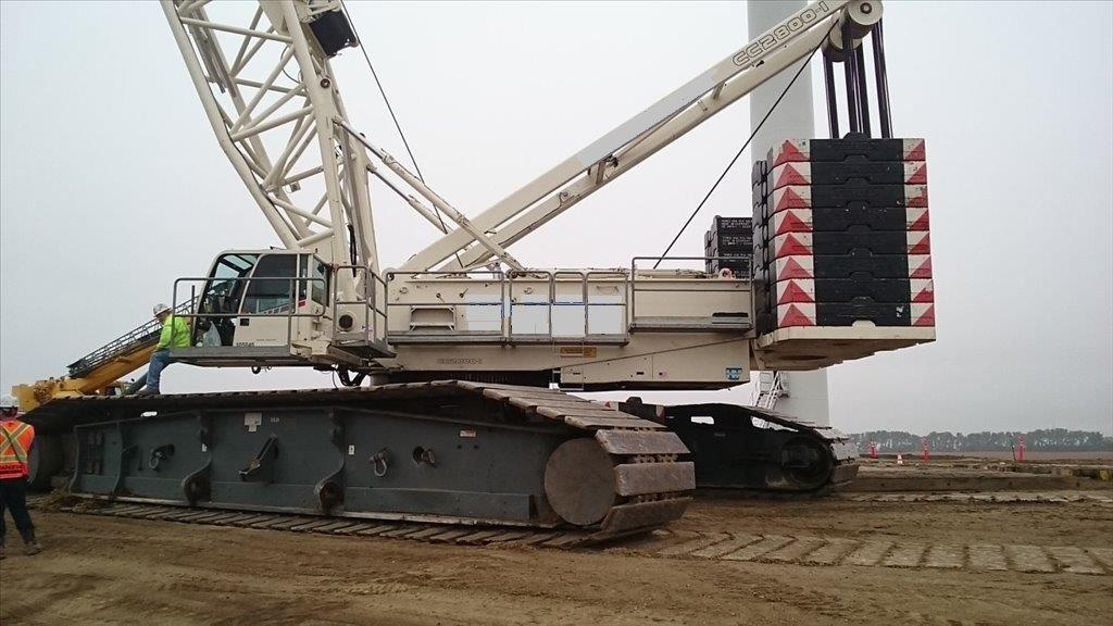 2009 Terex/Demag CC2800-1 660-Ton Lattice Boom Crawler Crane
